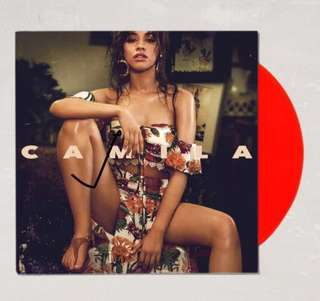 Camila Cabello - Camila (Limited Red Vinyl by Urban Outfitters)