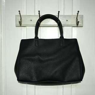 Terranova Black leather HandBag