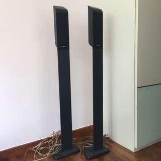 Floor standing Infinity speakers