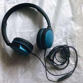 🔥 BN Audio-Technica Headphones (Metallic Blue)