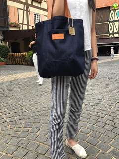 Double Side Tote Bag for Sale