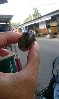 Batu cincin sisik ular naga antik
