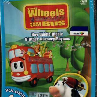 The Wheels On The Bus Hey Diddle Diddle Vol.4 Anime DVD