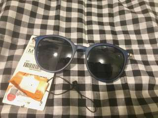Zara blue denim sunglasses