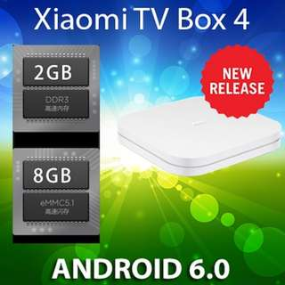 💖READY STOCK💖 [Xiaomi TV Box]8th Gen Android Internet TV Box III 4K Version SAFETY MARK PLUG