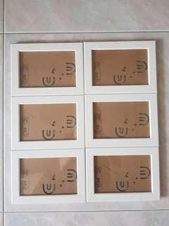 IKEA 6 Photo Frames