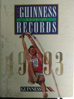 Guinness world book records 1993
