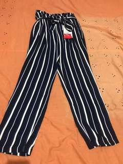 celana panjang stradivarius, long pants stradivarius, long cullote stradivarius, celana kulot stradivarius