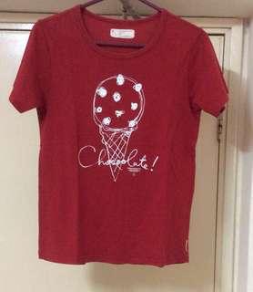 Chocoolate T Shirt Size:XS