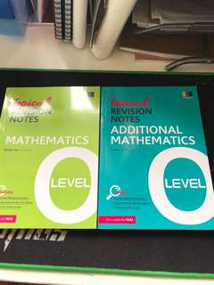 O Level Topical Revision Notes Elementary And additional maths