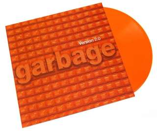 Garbage - Version 2.0 20th Anniversary Edition 2LP [Orange Vinyl]