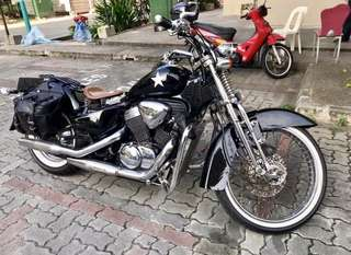 Honda Steed Springer 400 VLS Harley Look