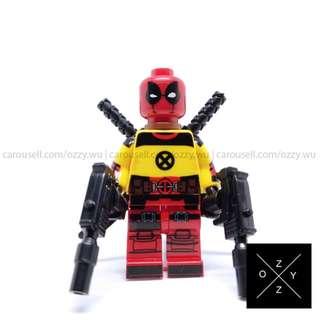 Lego Compatible Marvel Superheroes Minifigures : Deadpool (Trainee)