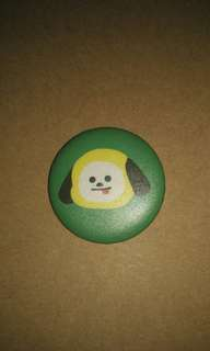 [WTS/TRADE] BT21 CHIMMY BUTTON BADGE