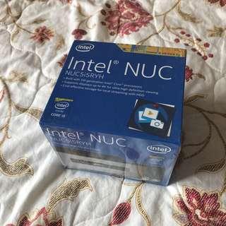 全新Intel NUC 5代 NUC5I5RYH 連8GB ram 512gb SSD 保養到2021年