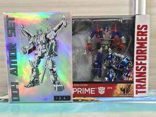 Transformers Evasion Prime and DX9 D04 Amor Set