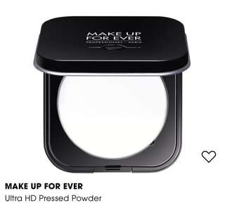 🚚 Make Up Forever Ultra HD Microfinishing Pressed Powder