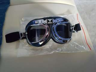 Goggles foldable for riding or personal mobility device