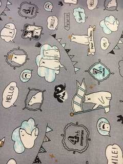 🚚 Polar bear fabric