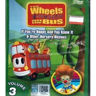 The Wheels On The Bus If You're Happy And You Know It Vol.3 Anime DVD