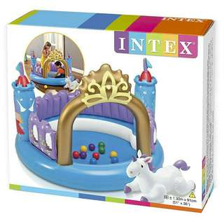 *FREE DELIVERY to WM only / Ready stock* Kids Index castle playset as shown in design/color. Free delivery is applied for this item.