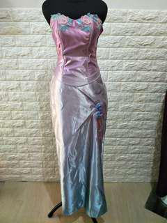 GOWN LONG DRESS