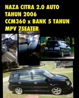 MPV CITRA SAMBUNG BAYAR/LOAN