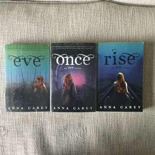 Eve Trilogy by Anna Carey