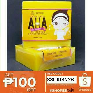 AHA Whitening Booster Soap