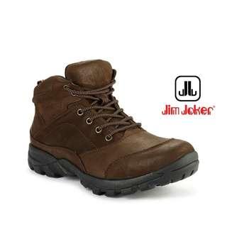 Obral Sepatu Jim Joker Asli - Grue 1BG Coffee