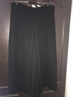 Zara black culotte