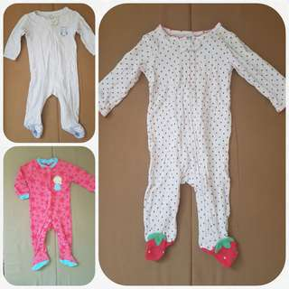 CARTER' S BUNDLE SALE! SLEEPSUITS