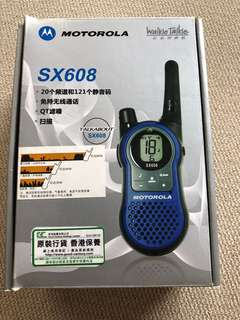 MOTOROLA SX608 walkie talkie 對講機