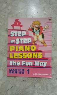Step by step piano lessons master series 1 by geraldine