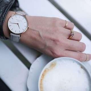 Rosefield Leather Watch