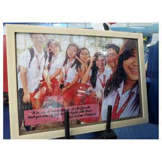 Customized PUZZLE with FRAME
