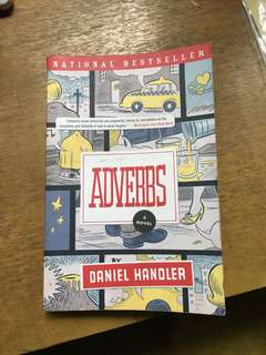 Adverbs - Daniel Handler (Paperback)