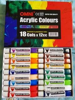 🚚 Omni Acrylic colours