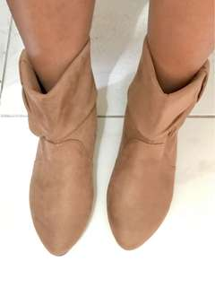Brown Ankle Boots from Hongkong