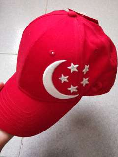 BNWT Singapore National Day Cap