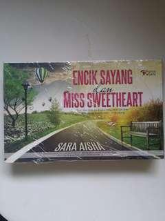 Novel Encik Sayang dan Miss Sweetheart