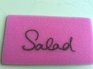 Salad Card Holder