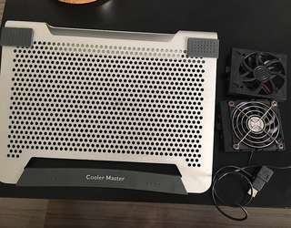 Cooler Master laptop cooling pad