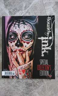 Special collector's edition bound by ink tattoo book