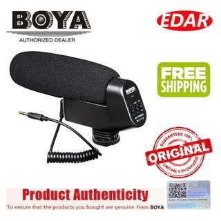BOYA BY-VM600 SHOTGUN MICROPHONE ««ORIGINAL & OFFICIAL BOYA»»