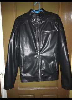 Zara Leather Biker Jacket