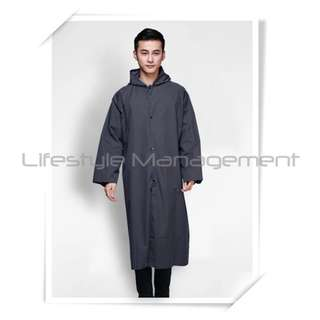 Travel/Fishing/Outdoor Long Section One Piece Rain Jacket/Coat/Suit/Raincoat/Poncho