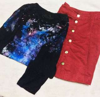 Galaxy Top (Long Sleeves)