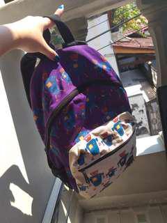 Mag backpack purple