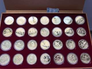 North Korea 🇰🇵 2008 Beijing Olympic coins
